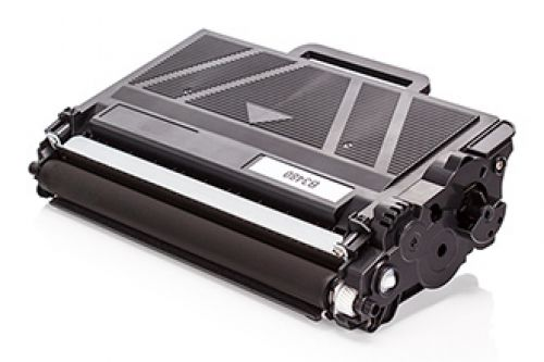 Compatible Brother TN3480  Black 8000 Page Yield