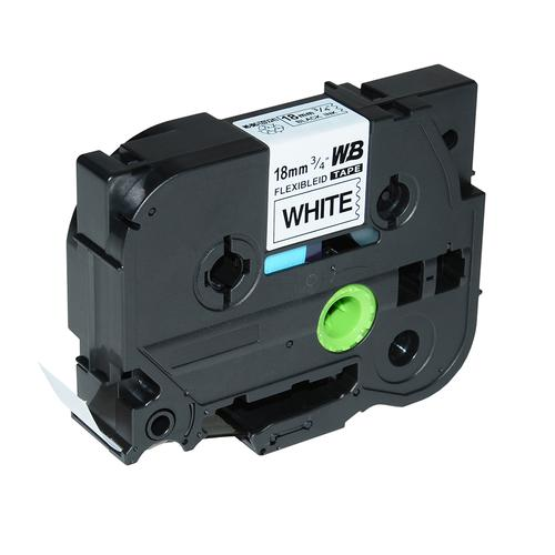 Compatible Brother TZE-FX241 Black on White Label Tape 18mm/8m *7-10 day lead*
