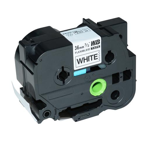 Compatible Brother TZE-FX261 Black on White Label Tape 36mm/8m *7-10 Day Lead*