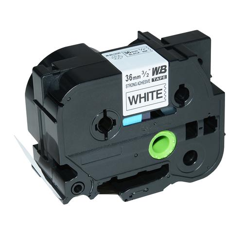 Compatible Brother TZE-S261 Black on White Label Tape 36mm/8m *7-10 Day Lead*