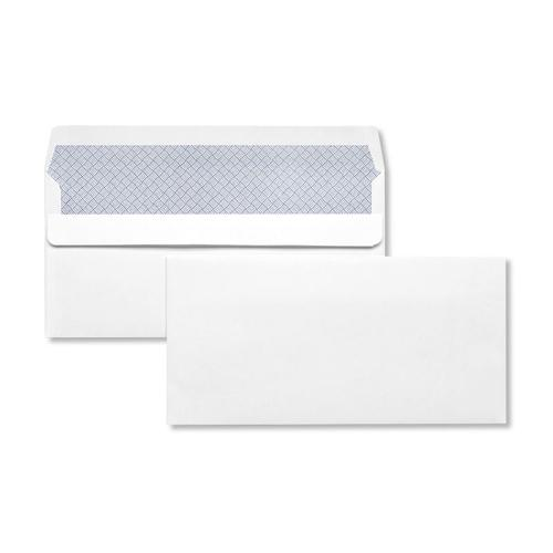 DL 110x220mm Hawk White 90gsm Opaqued Self Seal Wallet 500 Pack