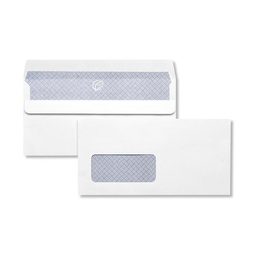 1A24ILG - 110x220mm 100gsm Kestrel White Window Self Seal Wallet Laser Guaranteed 500 Pack
