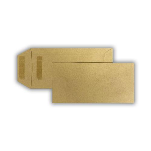 Condor Manilla Pocket Envelope 115gsm Fastseal 500 Pack - DL 220 x 110mm