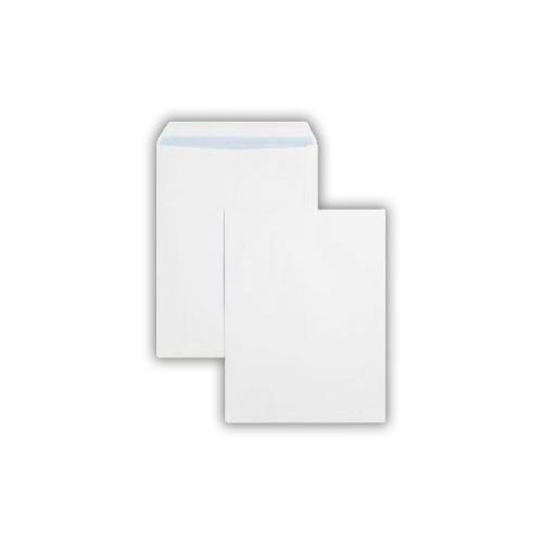 305x127mm Kestrel White 100gsm Opaqued Self Seal Pocket 250 Pack