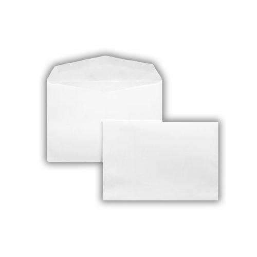 1J09 - 114x162mm 80gsm White Gummed Greeting Card Wallet Envelopes 1000 Pack