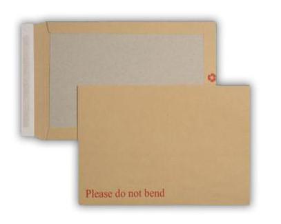 353 x 250mm 120gsm Manilla Board Back Pocket Peel & Seal 250 Pack