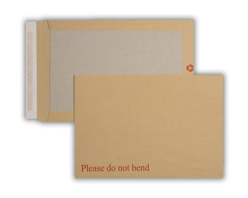 318x267mm Condor Manilla 115gsm Peel & Seal Board Back Pocket 125 Pack