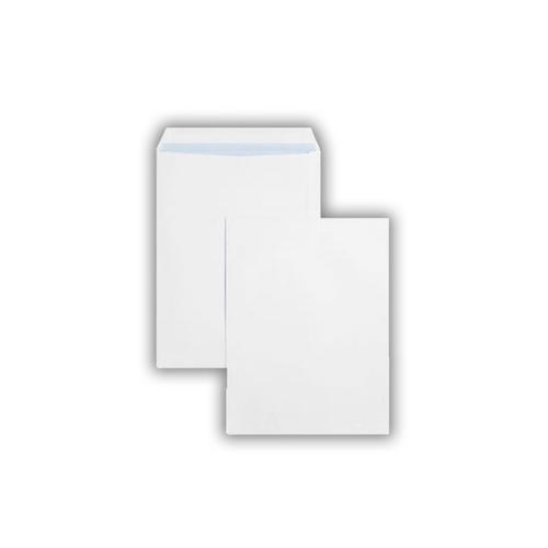 406x305mm 110gsm White Peel & Seal Pocket