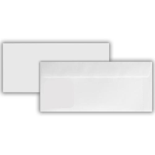 110 x 240mm 120gsm Unsanitized Cutlery Envelope (Unprinted) Peel & Seal 500 Pack