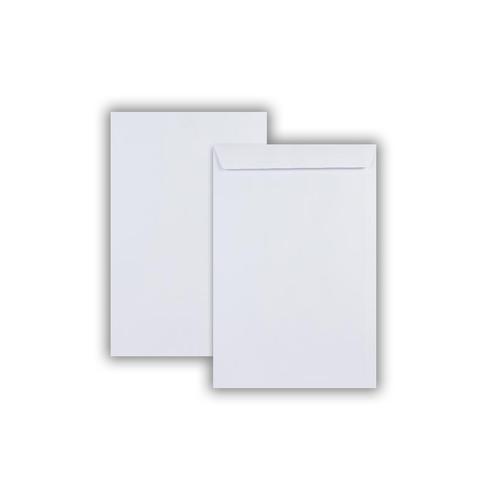 381x251mm Kestrel White 100gsm Self Seal Pocket 250 Pack