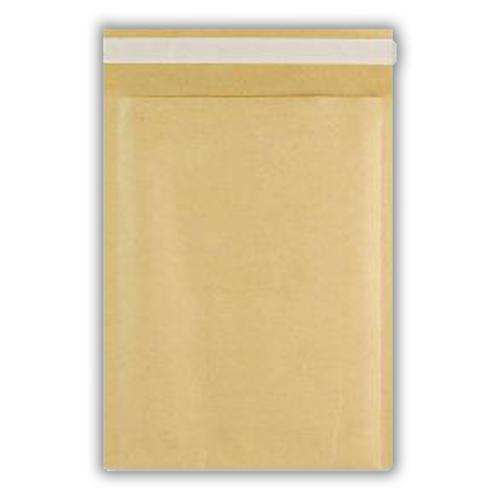 265x180mm Manilla Bubble Lined Bag Peel & Seal  100 Pack
