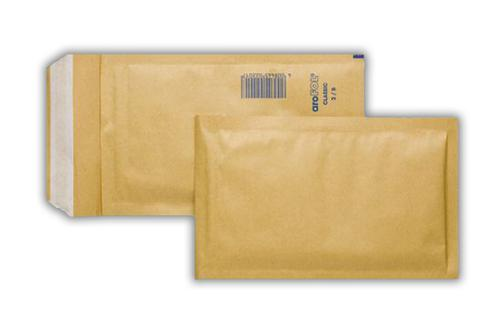 350x470mm Manilla Padded Bags Peel & Seal 50 Pack
