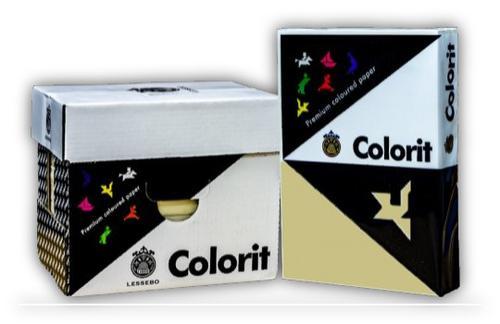 A4 (297 x 210mm) 80gsm Cream Copier Paper 500 Sheets/Ream