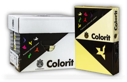 A4 (297 x 210mm) 80gsm Yellow Copier Paper 500 Sheets/Ream