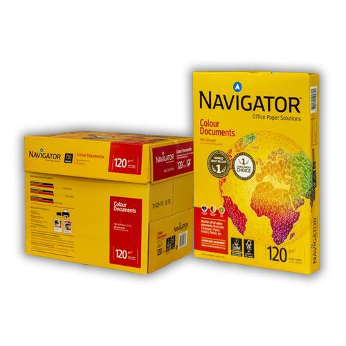 Navigator A4 120gsm Colour Documents Paper 250 Sheets/Ream