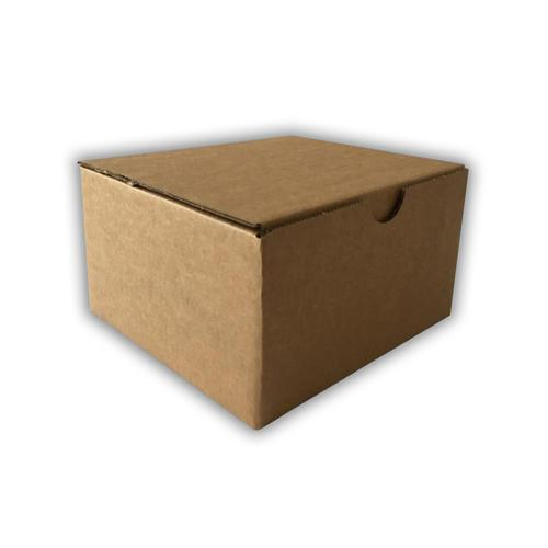 L170 x W160 x H98mm Brown Recyclable Board Box 20 Pack