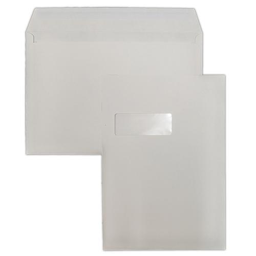 1N74 - SUP-W 229x324mm 120gsm White Peel & Seal Window Wallet C03C4PS-W 250 Pack