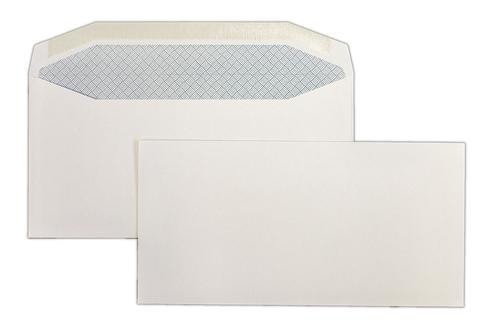 1B11 - 110x220mm 100gsm White Gummed Wallet 1000 Pack