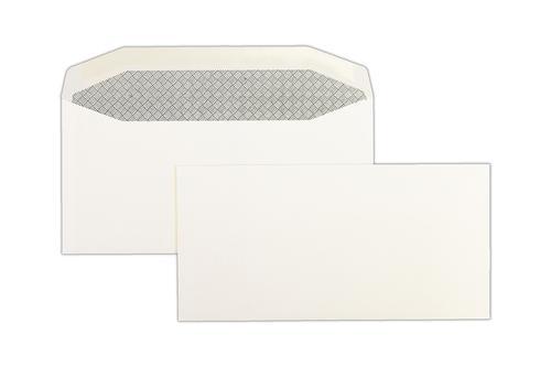 DL 110x220mm Hawk White 90gsm Gummed Wallet 500 Pack