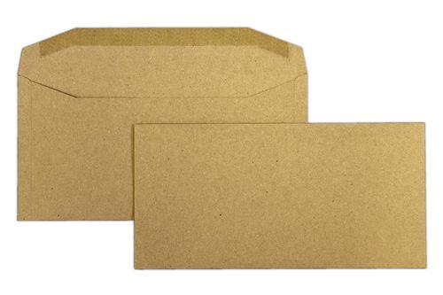 DL 110x220mm Treesaver Manilla 80gsm Gummed Wallet 500 Pack