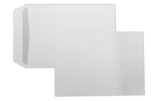 C5 229x162mm Kestrel White 100gsm Opaqued Peel & Seal Pocket Pack 500