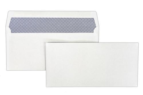 105x216mm Merlin White 80gsm Opaqued Gummed Wallet 1000 Pack