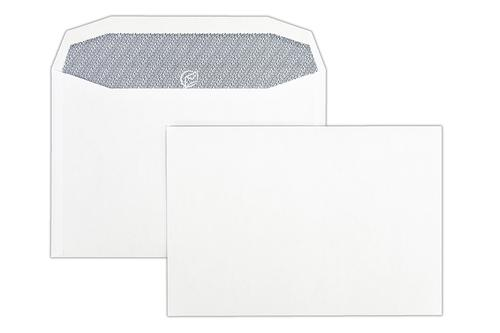 C5x 162x235mm Autofast White 90gsm Opaqued Gummed Wallet 500 Pack