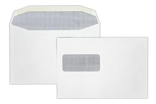 1W54LG - 162x240mm 90gsm Autofast White Window Gummed Wallet Laser Guaranteed 500 Pack
