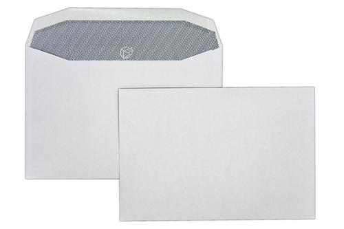 1W52IS - 162x240mm 90gsm White Gummed Wallet with Inside Seams 500 Pack