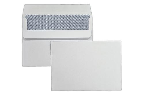 C6 114x162mm Kestrel White 100gsm Opaqued Self Seal Wallet 1000 Pack