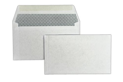 89x152mm 80gsm White Wallet Gummed Perforated LHS 1000 Pack