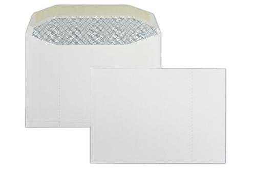 1B15 114x162mm Club Lotto 100gsm White Non Window Gummed Wallet Perforated RHS 1000 Pack