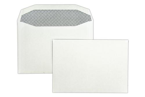 C6 114x162mm Merlin White 80gsm Opaqued Gummed Wallet 1000 Pack