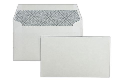 89x152mm Merlin White 80gsm Opaqued Gummed Wallet 1000 Pack