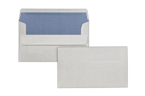 1A02 - 89x152mm 80gsm White Self Seal Wallet 1000 Pack