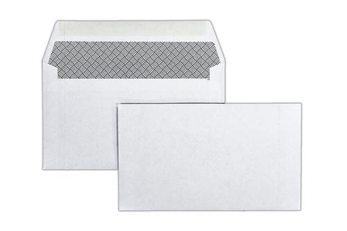 89x152mm 80gsm White Wallet Gummed Perforated Glued RHS 1000 Pack