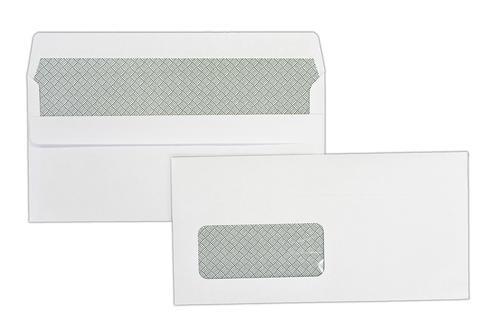 DL 110x220mm Hawk White 90gsm Window Opaqued Self Seal Wallet 1000 Pack