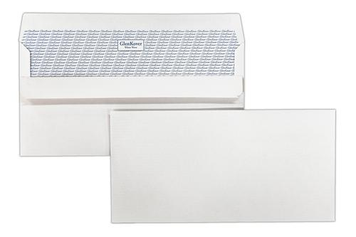 EA4387GS - 110x220mm 100gsm White Self Seal Glenkover Wallet 500 Pack