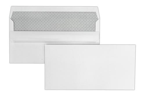 DL 110x220mm Kestrel White 100gsm Opaqued Self Seal Wallet 1000 Pack