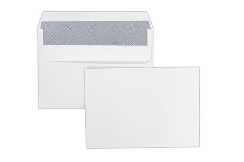 C5 162x229mm Kestrel White 100gsm Opaqued Self Seal Wallet 500 Pack