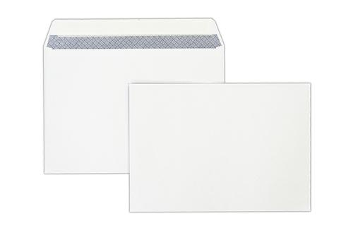 1P50 - 162x229mm 100gsm White Peel & Seal Wallet 500 Pack