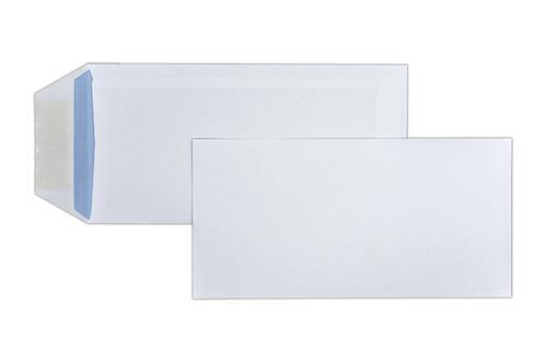 DL 220x110mm 90gsm White Gummed Pocket 1000 Pack