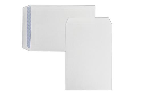 C4 324x229mm Kestrel White 100gsm Opaqued Self Seal Pocket 250 Pack