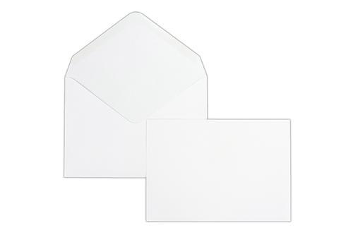 C5 162x229mm Kestrel White 100gsm Gummed Greeting Card Wallet 500 Pack