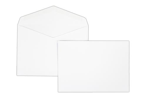 133x185 100gsm Kestrel White Gummed Wallet 1000 Pack