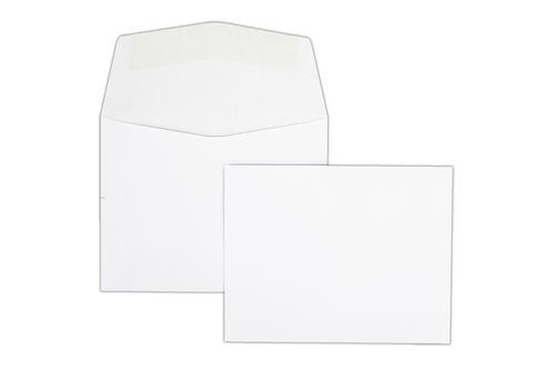 95x121mm 80gsm White Gummed Wallet 1000 Pack