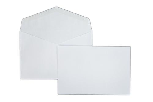 127x190mm 90gsm White Gummed Wallet 1000 Pack