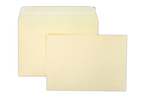 162x229mm Clariana Cream 120gsm Peel & Seal Wallet LCC5MA 500 Pack