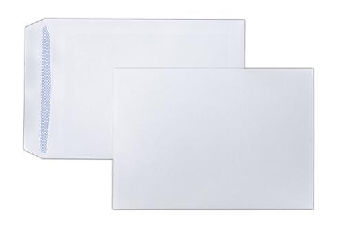 254x178mm Kestrel White 100gsm Self Seal Pocket 500 Pack
