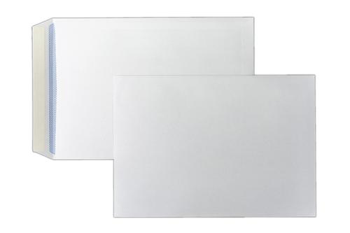 C4 324x229mm Kestrel White 100gsm Opaqued Peel & Seal Pocket 250 Pack